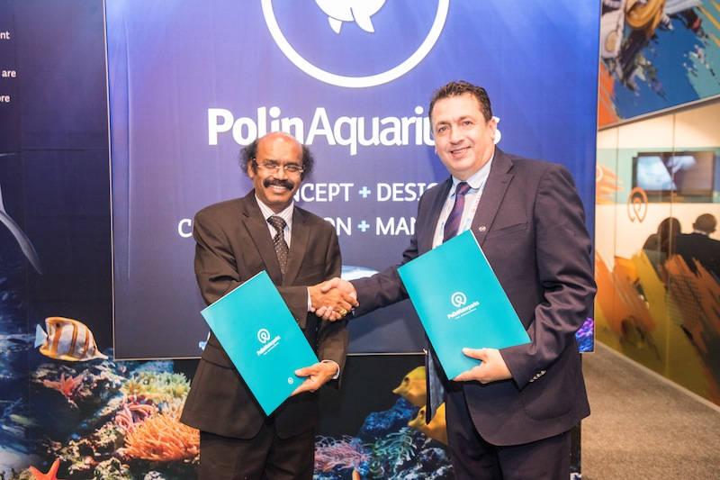Photo of Polin Aquariums and VGP Marine Kingdom signs a deal